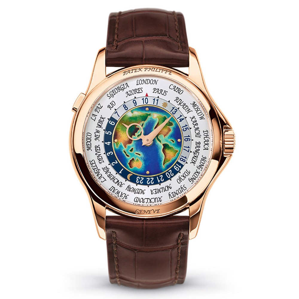 Patek Philippe Complications World Time 5131R-001 Watch 39.5mm