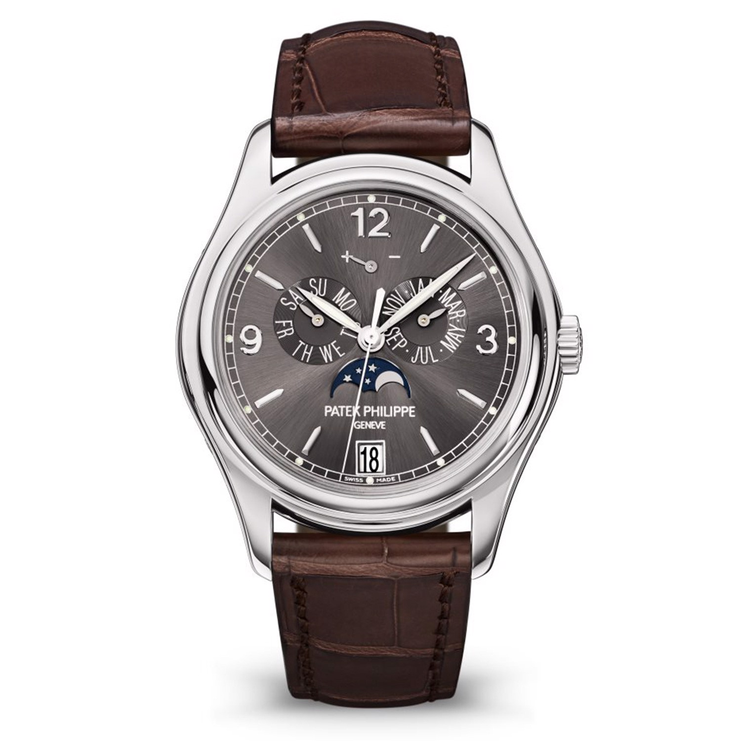 Patek Philippe Complications 5146G-010 Annual Calendar & Moonphase –  HARRY&Co.