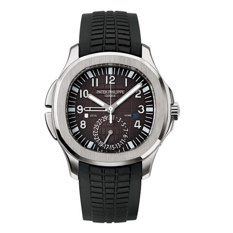 Patek Philippe Aquanaut 5164A-001 - Travel Time Black