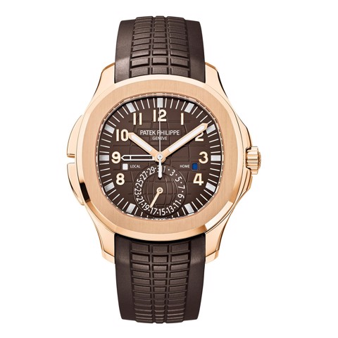 Patek Philippe Aquanaut 5164R-001 - Travel Time Brown