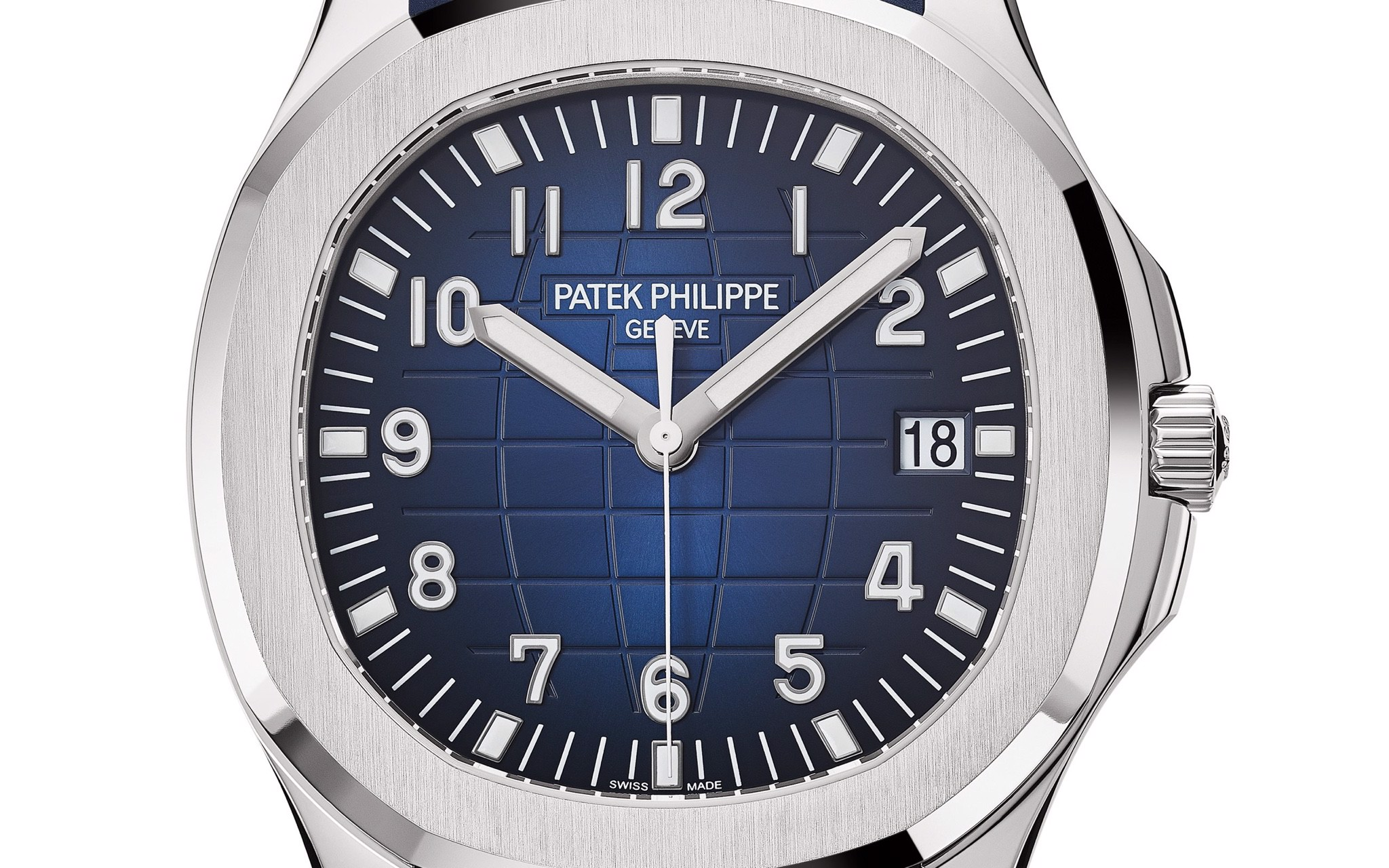 Patek Philippe Aquanaut 5168G-001 - 20th Anniversary - Blue