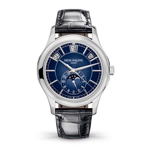 Patek Philippe Complications Annual Calendar 5205G Watch 40mm