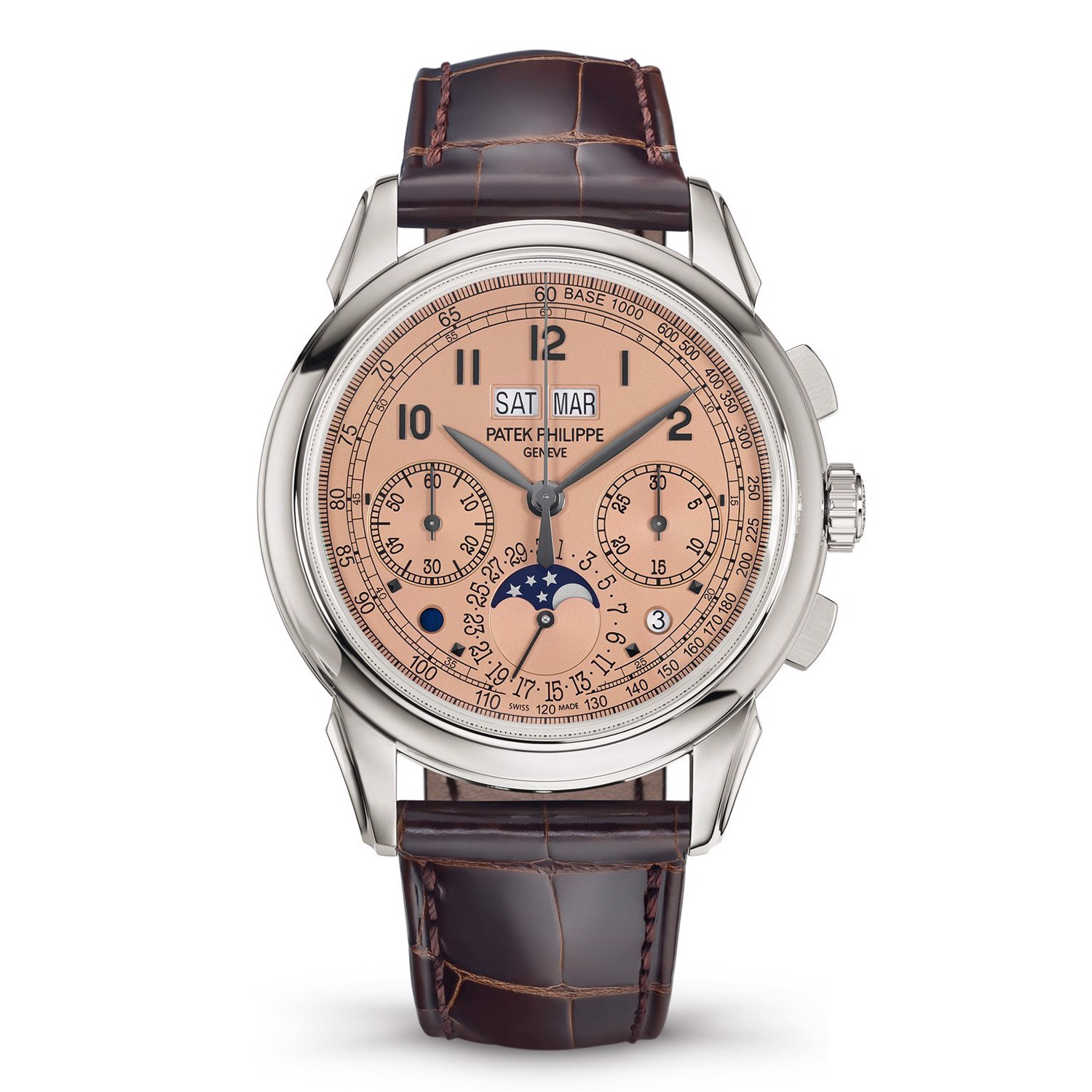 Patek Philippe Grand Complications 5270P-001 - Perpetual Calendar Chronograph