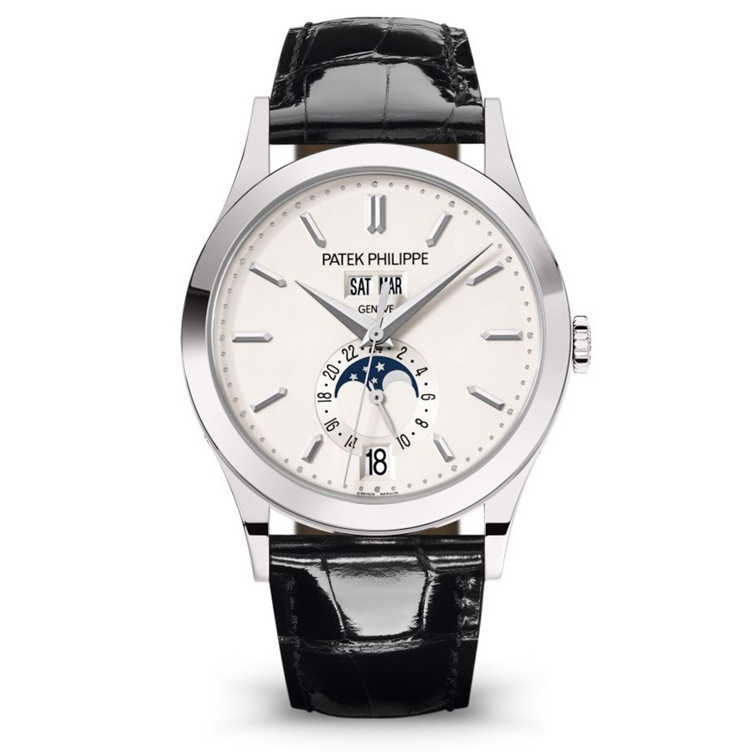 Patek Philippe Complications 5396G-011 Annual Calendar & Moonphase