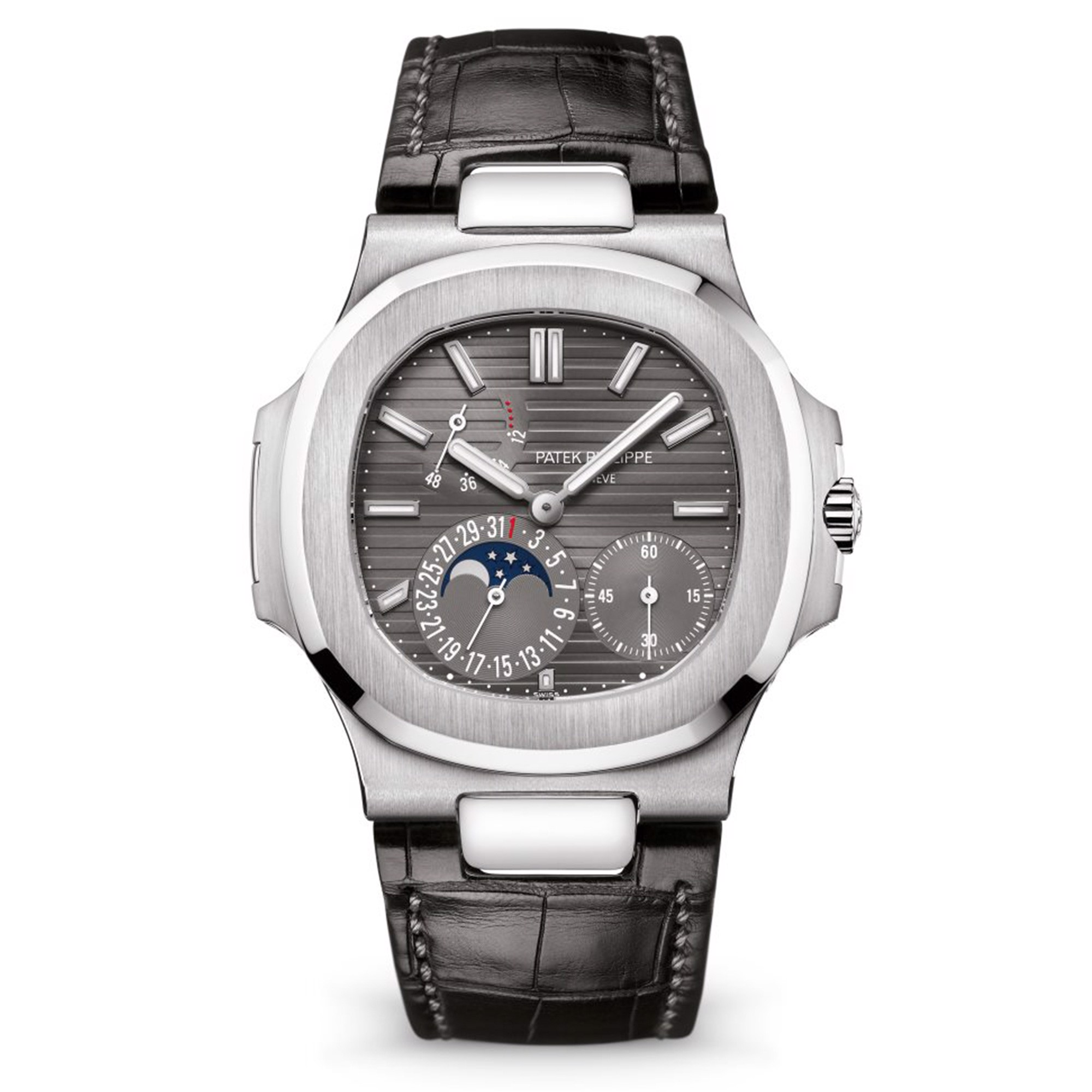 Patek Philippe Nautilus 5712G-001 White Gold Grey Dial