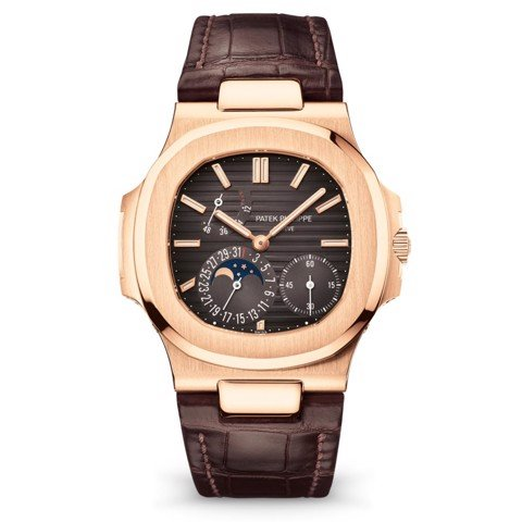 Patek Philippe Nautilus 5712R-001 Rose Gold Brown Dial