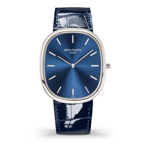 Patek Philippe Golden Ellipse 5738P-001 - Blue