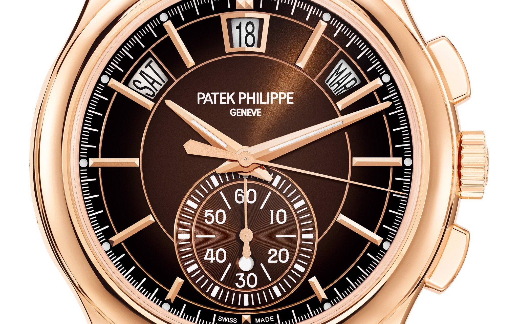 Patek Philippe Complications 5905R-001 Annual Calendar & Flyback Chronograph