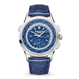 Patek Philippe World Time Chronograph 18k White Gold 5930G-010