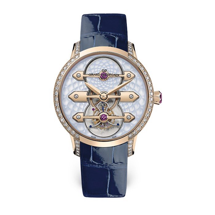 Girard Perregaux Bridges Tourbillon Three Gold Bridges Lady 99242D52B401-CK4A