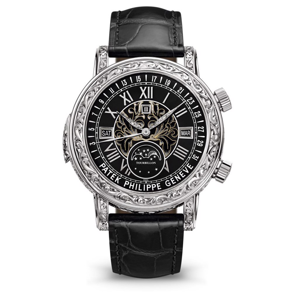 Patek Philippe Grand Complications Sky Moon Tourbillon 6002G-010