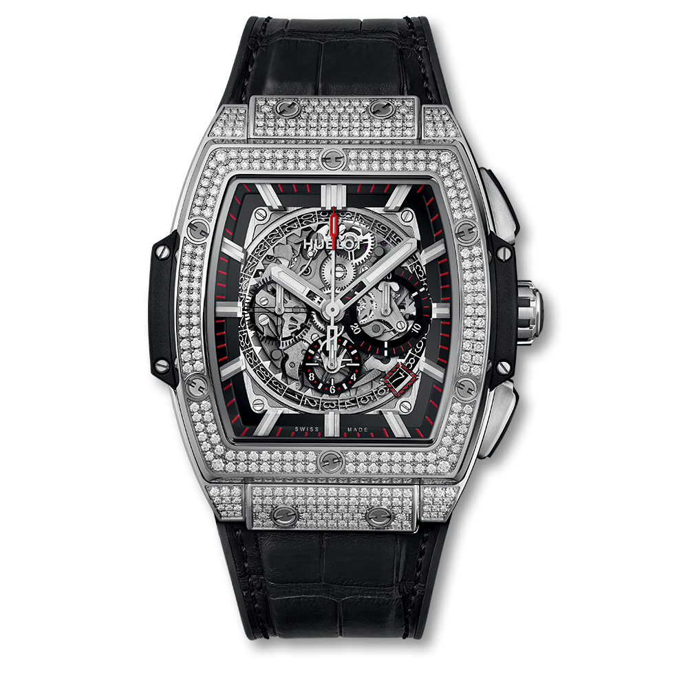Hublot Spirit Of Big Bang Chronograph Titanium Pavé