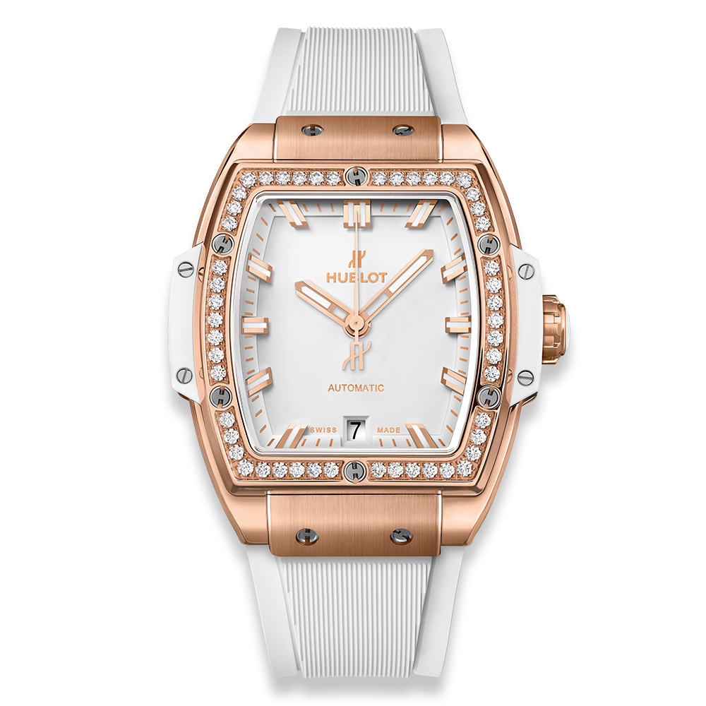 Hublot Spirit Of Big Bang King Gold White Diamonds