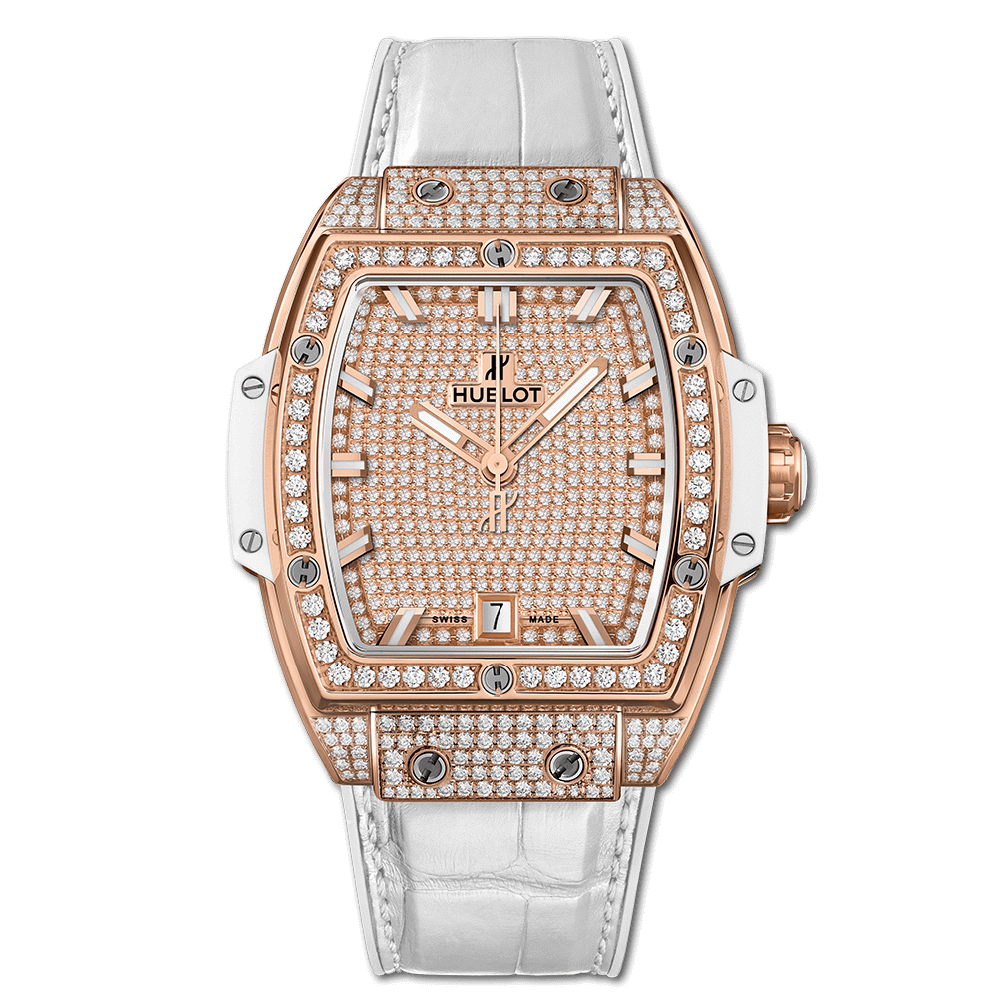 Hublot Spirit Of Big Bang King Gold White Full Pavé