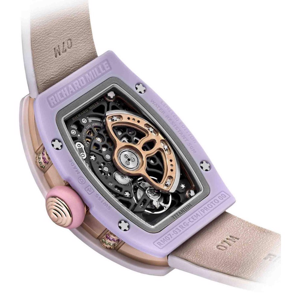 Richard Mille Bonbon Collection RM 07-03 MARSHMALLOW
