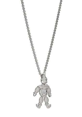 Chopard Happy Clown Pendant White Gold - Diamond
