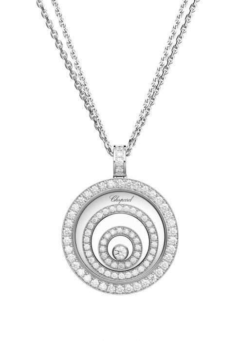 Chopard Happy Spirit Pendant White Gold - Diamond
