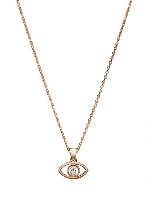 Chopard Luck Charms Pendant Rose Gold and Diamond