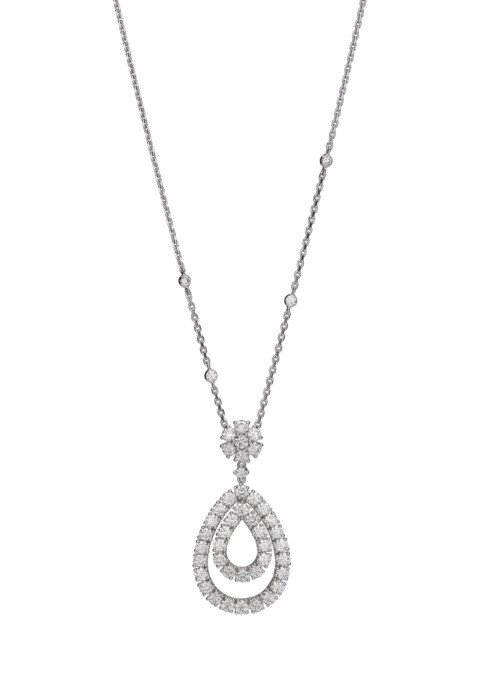 Chopard  L'heure Du Diamant Pendant White Gold Diamonds
