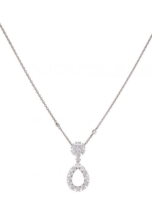 Chopard L'heure Du Diamant Pendant White Gold - Diamond