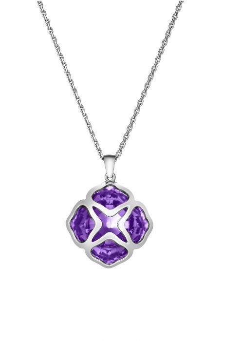 Chopard Imperiale Cocktail Pendant White Gold Amethyst