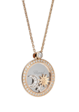 Chopard Diamonds Pendant Rose-White Gold and Diamond
