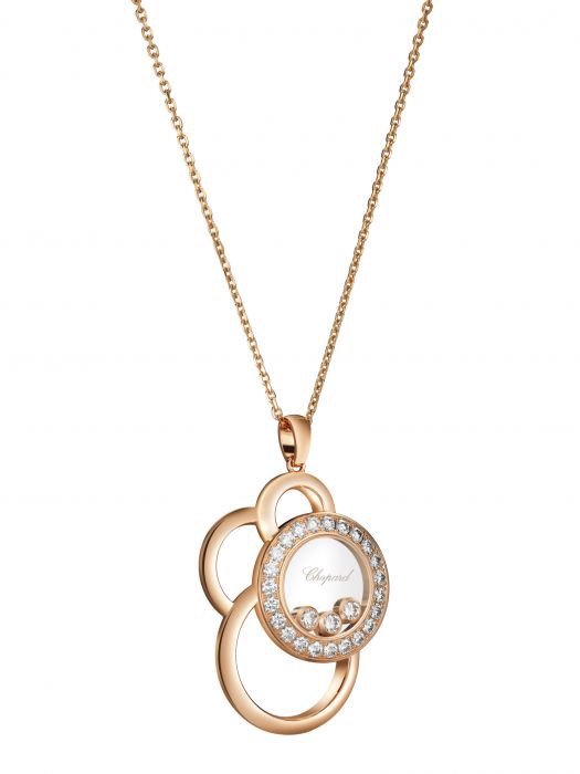 Chopard Happy Dreams Pendant Rose Gold Diamond