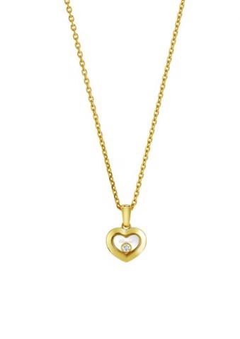 Chopard Happy Diamonds Icons Pendant Yellow Gold - Diamond