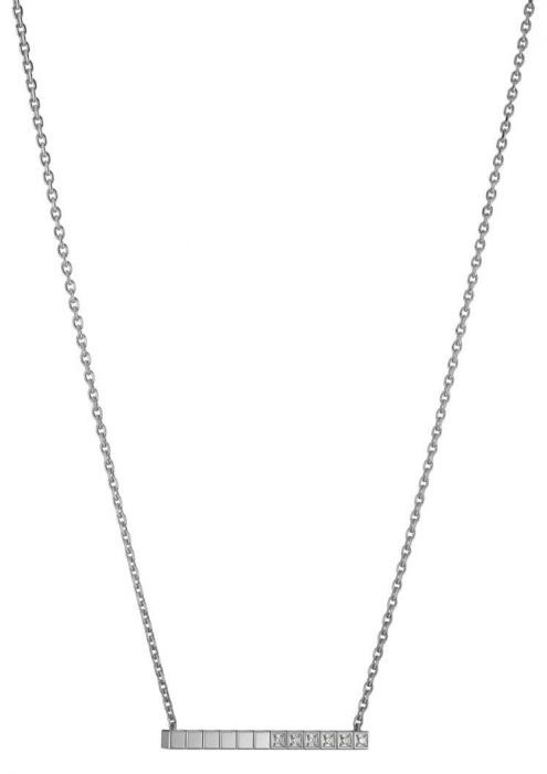 Chopard Ice Cube Pure Necklace White Gold - Diamond