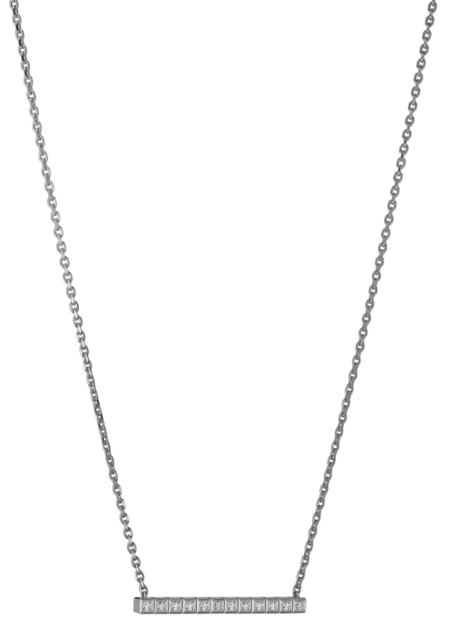 Chopard Ice Cube Necklace White Gold - Diamond