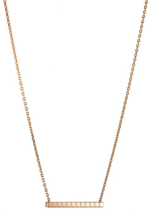 Chopard Ice Cube Pure Necklace Rose Gold