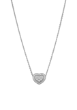 Chopard Happy Diamonds Icons Necklace White Gold - Diamond