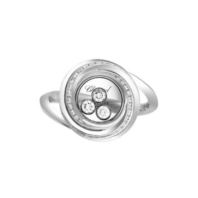 Chopard Happy Emotions Ring White Gold and Diamond