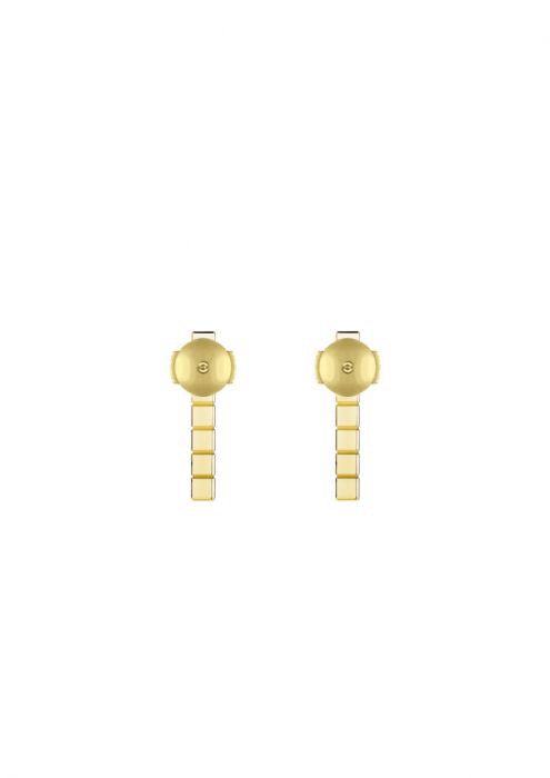Chopard Ice Cube Pure Earrings Yellow Gold