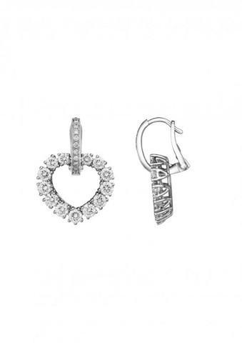 Chopard  L'heure Du Diamant Earrings White Gold Diamonds