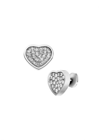 Chopard Happy Hearts Earrings White Gold Diamond