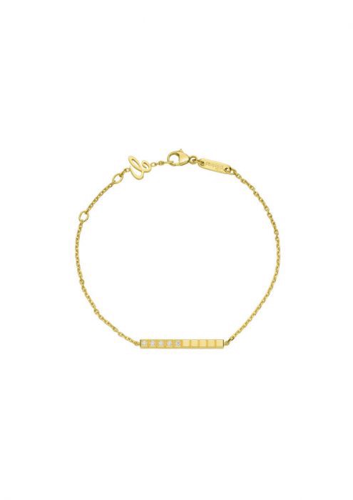 Chopard Ice Cube Pure Bracelet Yellow Gold and Diamond
