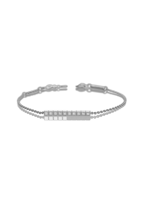 Chopard Ice Cube Bracelet White Gold and Diamond