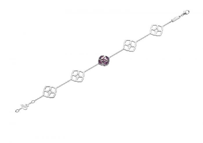 Chopard Imperiale Cocktail Bracelet White Gold and Amethyst