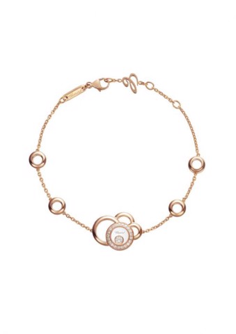 Chopard Happy Dreams Bracelet Rose Gold Diamond