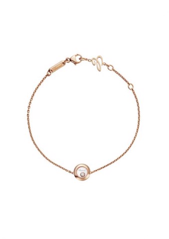Chopard Happy Diamonds Icons Bracelet Rose Gold Diamond