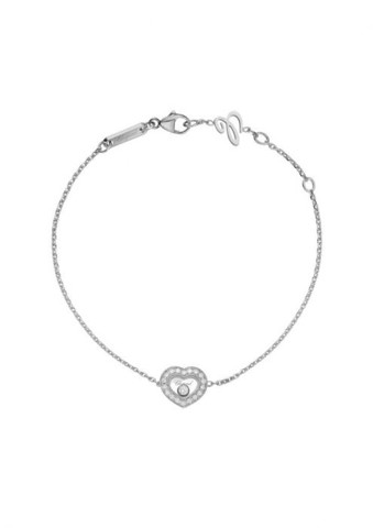 Chopard Happy Diamonds Icons Bracelet White Gold Diamond
