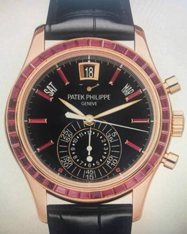 Patek Philippe Complications 5961R Chronograph & Annual Calendar