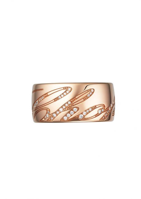Chopard Chopardissimo Ring Rose Gold and Diamond