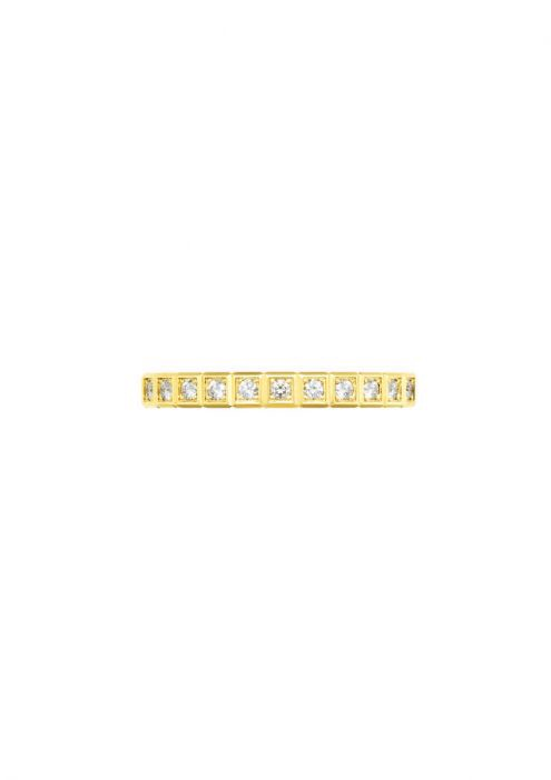 Chopard Ice Cube Pure Ring Yellow Gold and Diamond