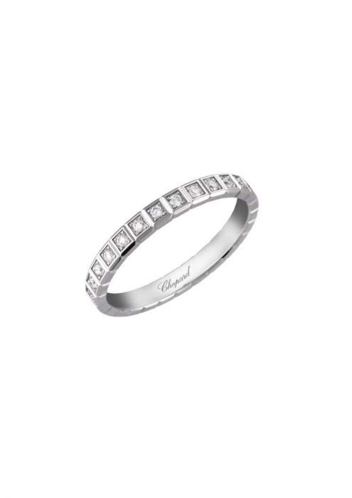 Chopard Ice Cube Pure Ring White Gold and Diamond