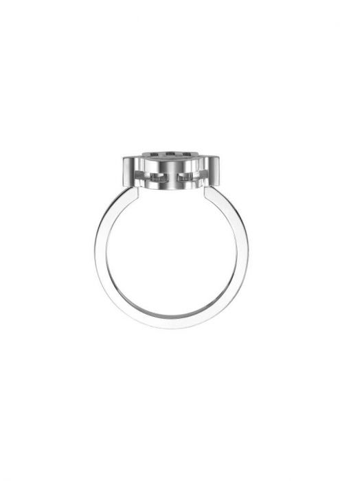 Chopard Happy Luck Charms Ring White Gold and Diamond