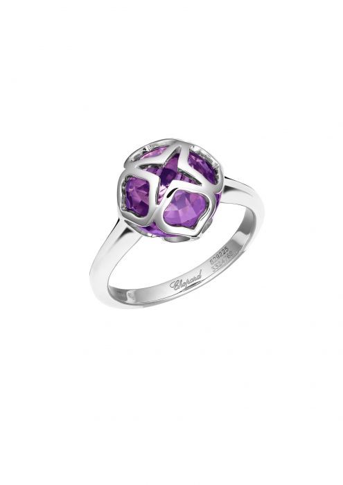 Chopard Imperiale Ring White Gold and Amethyst
