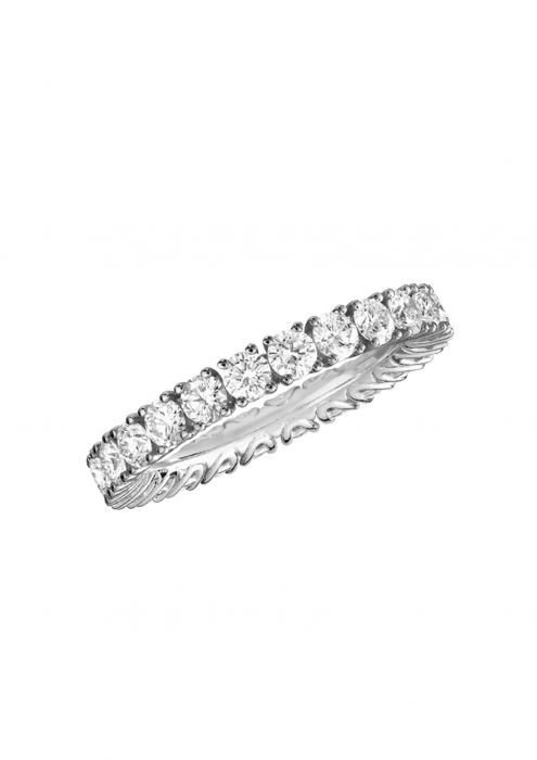 Chopard L'heure Du Diamant Ring White Gold and Diamonds