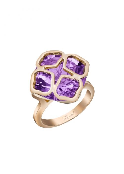 Chopard Imperiale Ring Rose Gold and Amethyst
